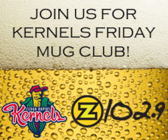 JOIN US AT THE KERNELS ON FRIDAYS FOR MUG CLUB!