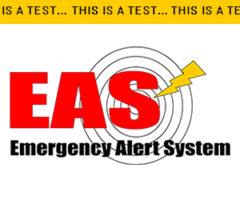 FEDERAL EMERGENCY ALERT SYSTEM TEST!
