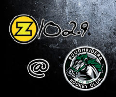 Z102.9 HITS THE STABLE W/ THE CEDAR RAPIDS ROUGHRIDERS!