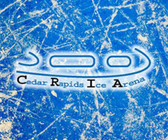 ICE ICE DAILY @ THE CEDAR RAPIDS ICE ARENA W/ CHRIS JACKSON!