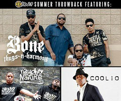 BONE THUGS-N-HARMONY WITH NAUGHTY BY NATURE