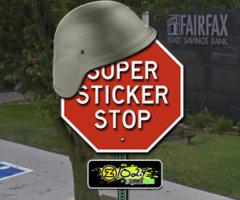 Z102.9'S SUPER STICKER STOP IN FAIRFAX IS BACK!