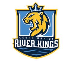 NEW TEAM — NEW SEASON: CEDAR RAPIDS RIVER KINGS TICKETS W/ THE MORNING SCRAMBLE!