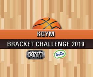 KGYM BRACKET CHALLENGE 2019!