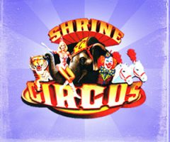 SHRINE CIRCUS RETURNS — TWO LOCATIONS — WIN W/ JENNY VALLIERE!