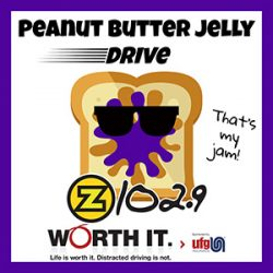 PEANUT BUTTER AND JELLY DRIVE