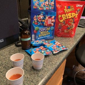 TASTE IT TUESDAY: FIRE WATER AND CRUNCH BERRIES