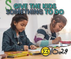 GIVE THE KIDS SOMETHING TO DO!