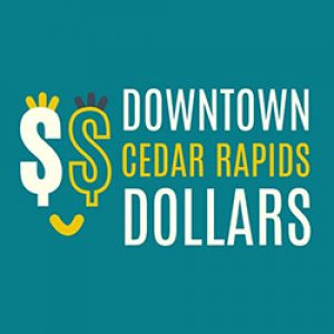 December 6 – Jesse Thoeming, Downtown Cedar Rapids Dollars