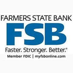 WINDOUGH STICKER STOP @ FARMER'S STATE BANK IN TIFFIN